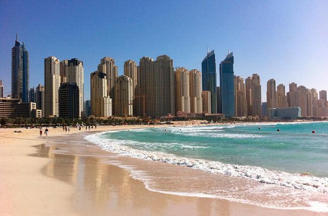 Dubaj more zimoj