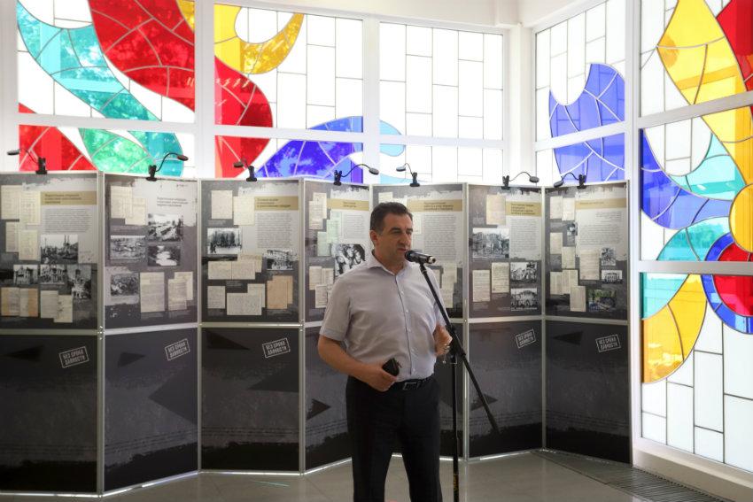 """В Краснодаре открылась выставка """"Без срока давности"""", посвященная жертвам фашизма_01"""