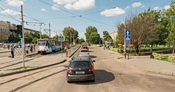 v_krasnodare_otkryt_proezd_dlya_transporta_na_perekrestke_moskovskoj_i_solnechnoj