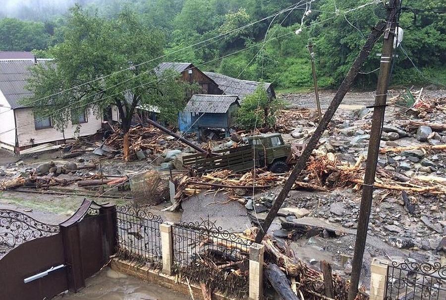 Погодные аномалии и стихийные бедствия на Кубани
