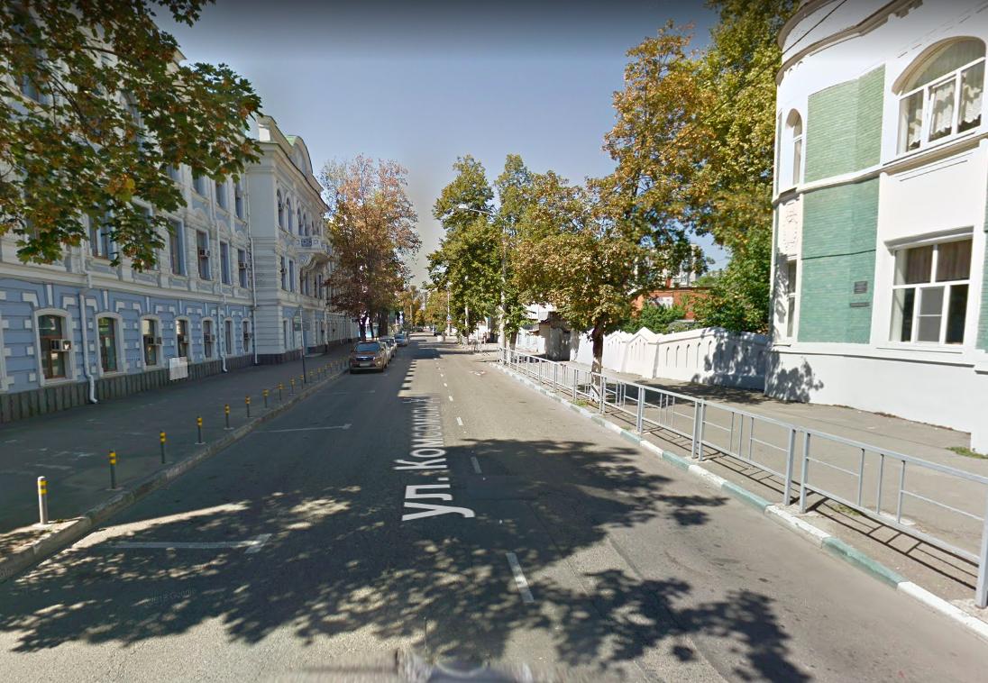 В Краснодаре закрыли улицу Комсомольскую