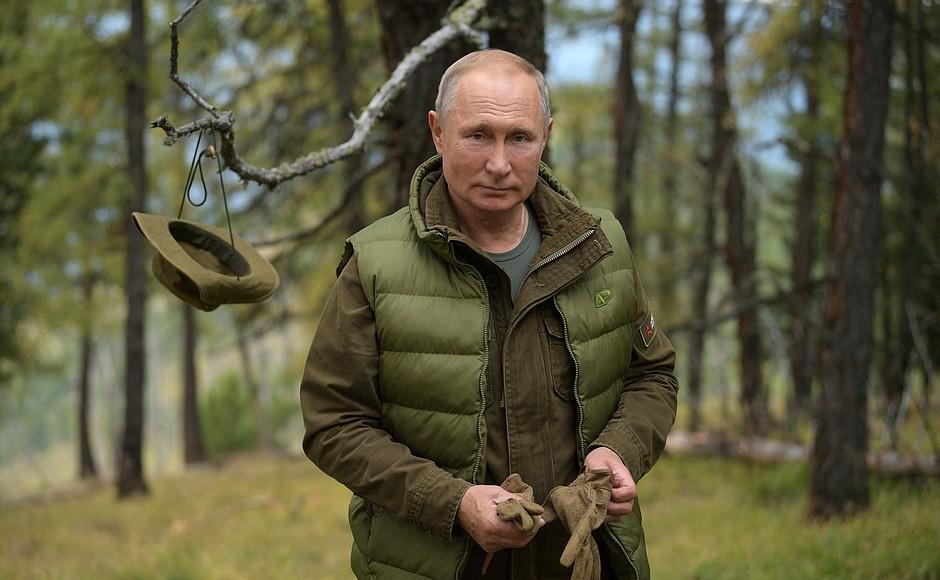 Владимир Путин отмечает свой день рождения