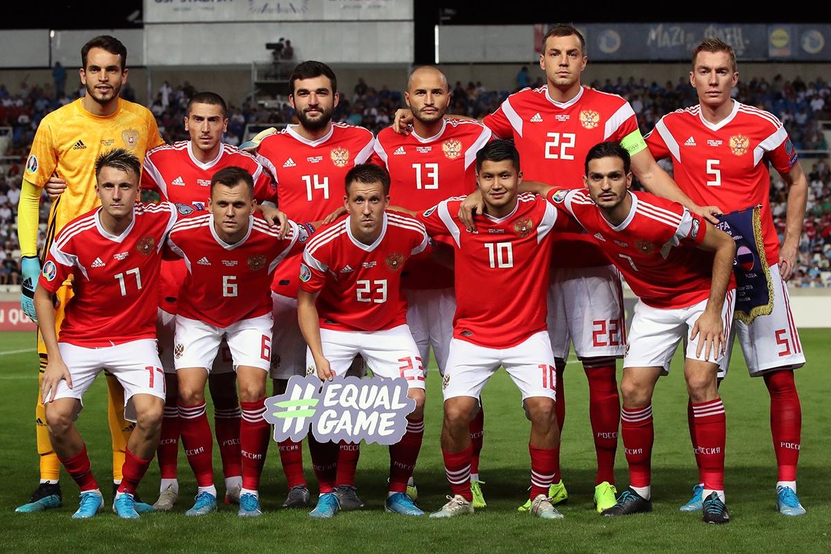 Сборная России обыграла Кипр и вышла на Чемпионат Европы-2020