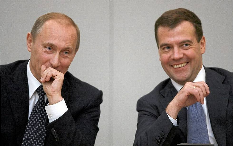 У Путина и Медведева увеличилась зарплата