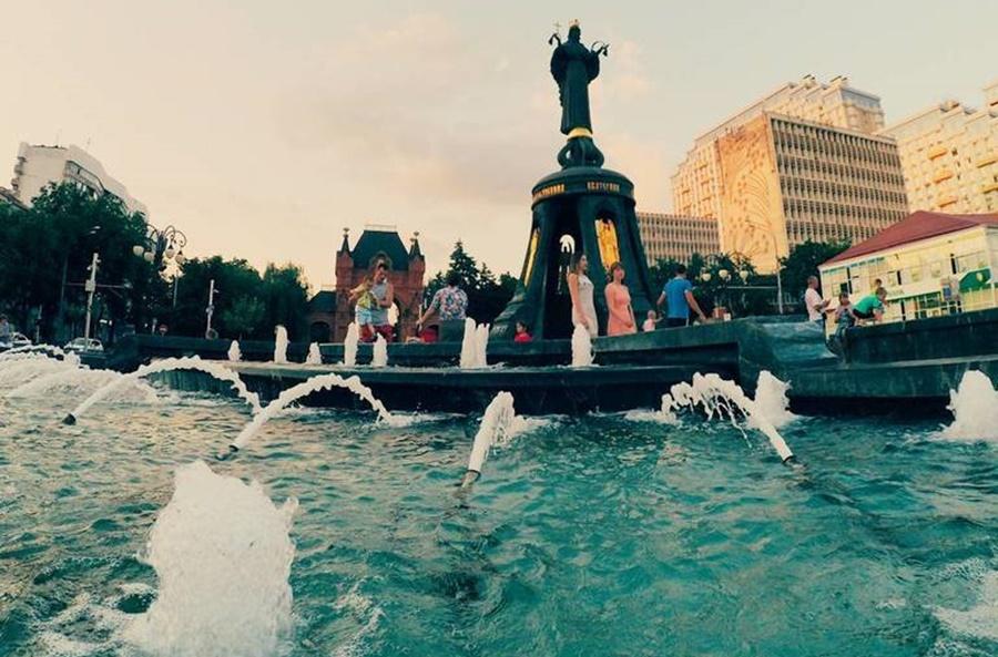 Сезон фонтанов закроют в Краснодаре 5 ноября