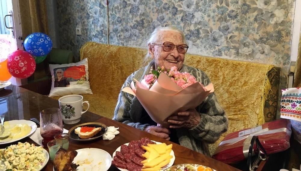 В Краснодаре самая пожилая спортсменка отметила свое 102-летие