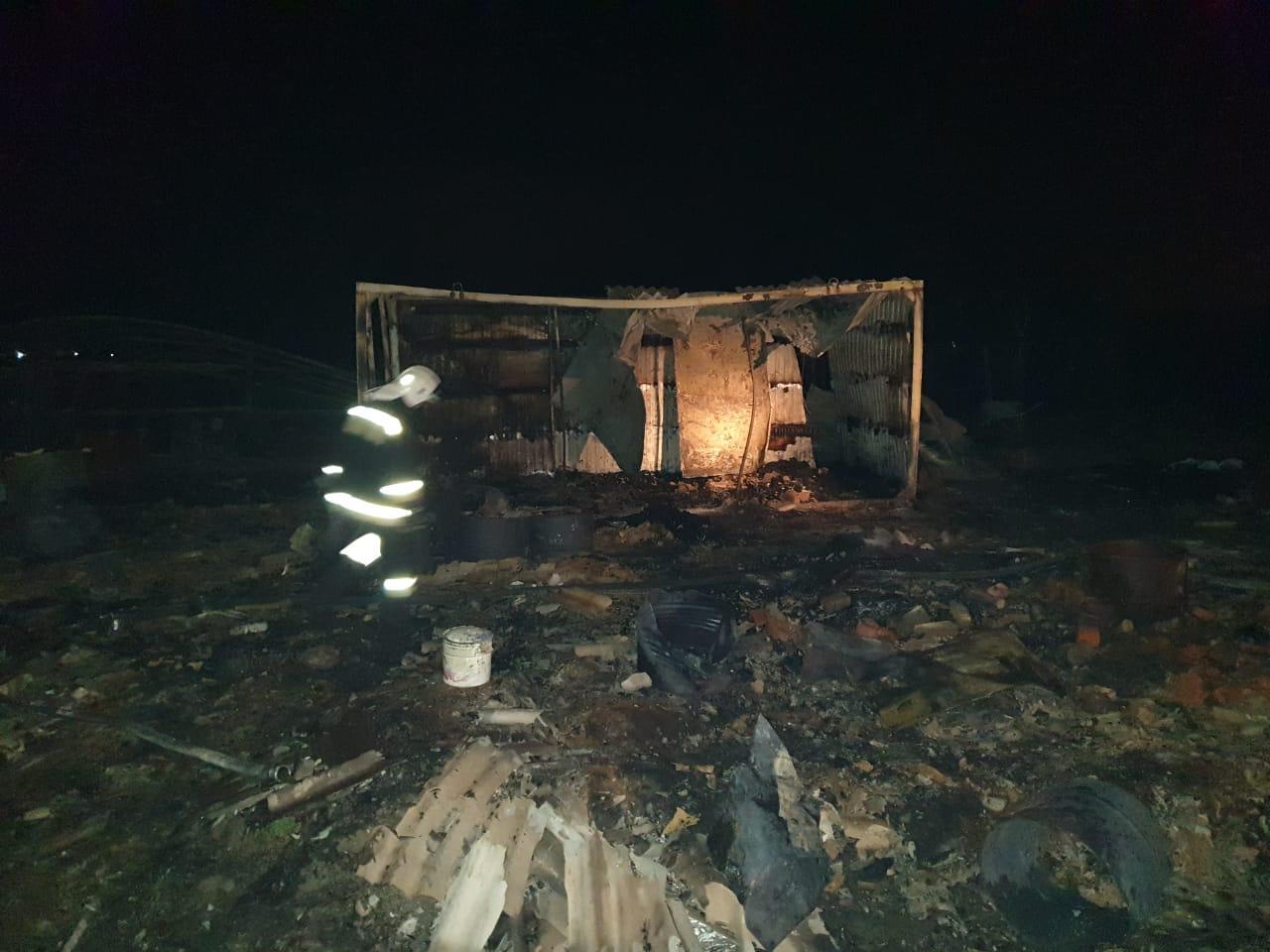 На Кубани сгорели заживо четыре человека