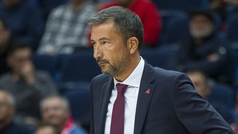 Уволен главный тренер баскетбольного клуба «Локомотив-Кубань»