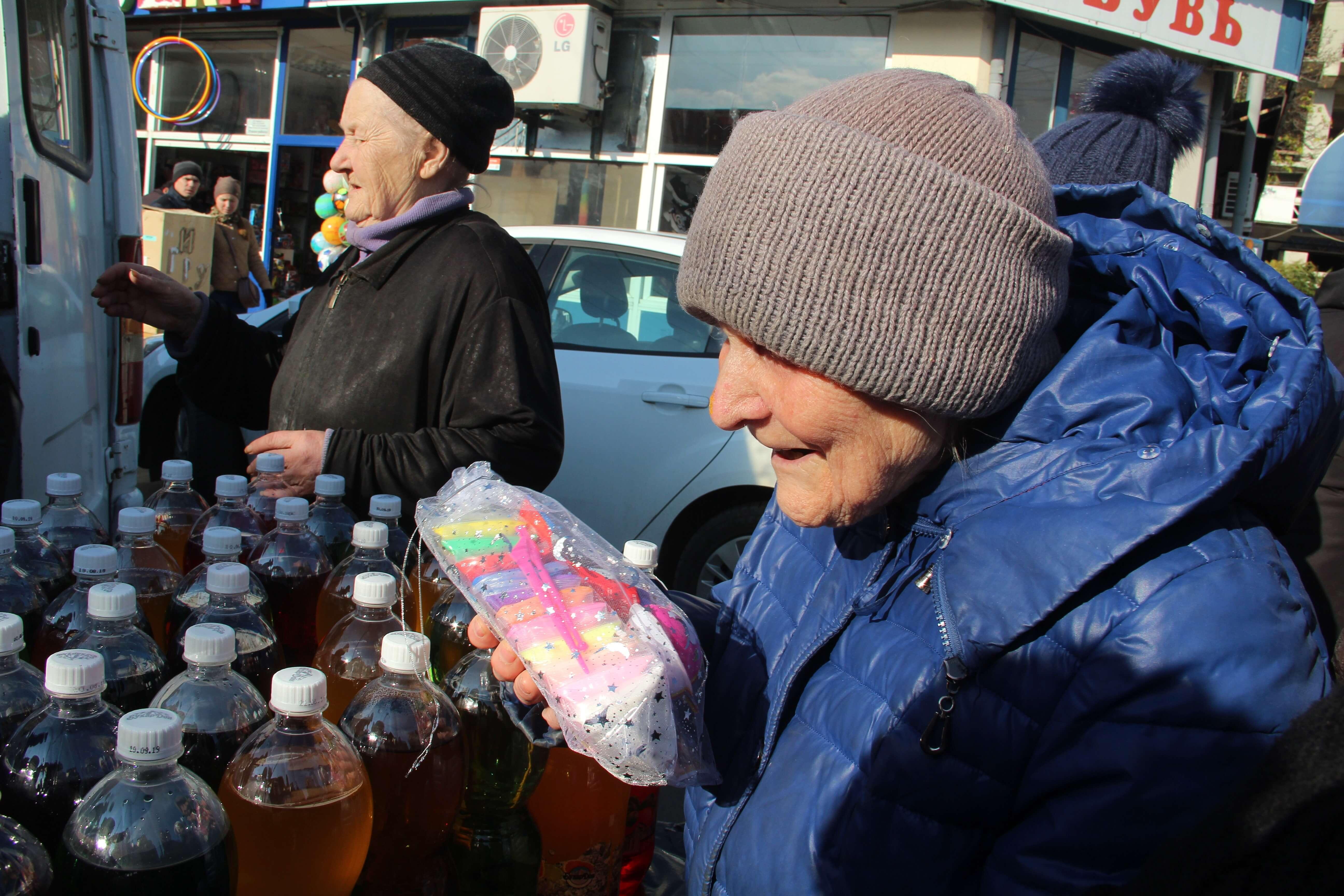 В центре Краснодара раздавали бесплатную еду. Как это было