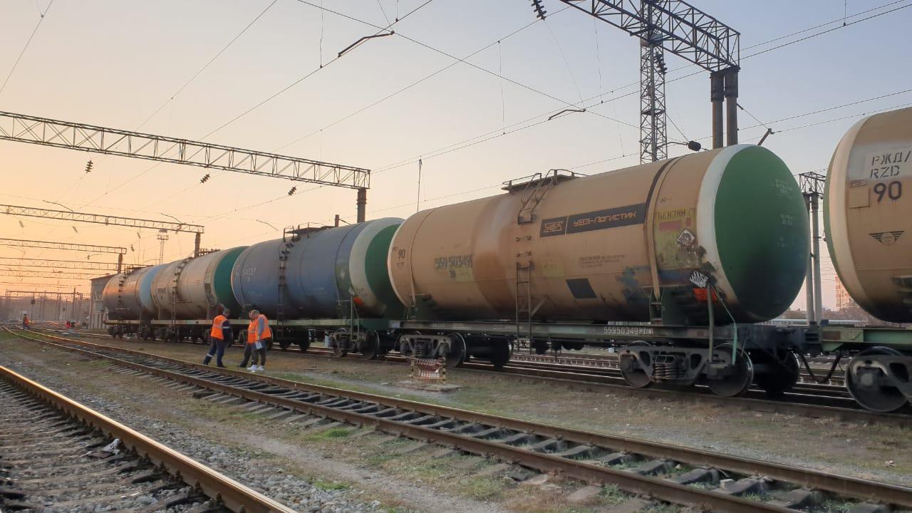 В Краснодаре обнаружен труп на крыше вагона поезда