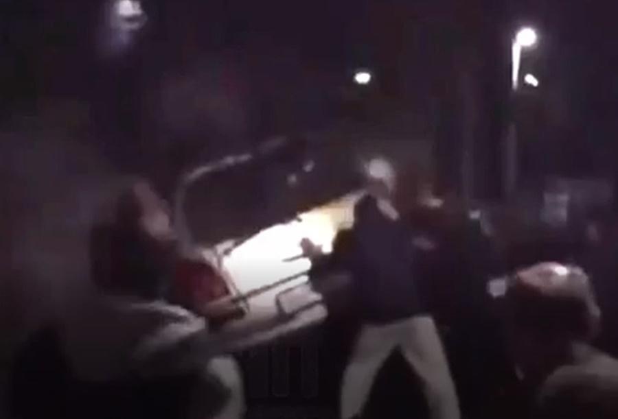 Разыскивается водитель, который бросил горящее авто на ж/д путях в Краснодаре