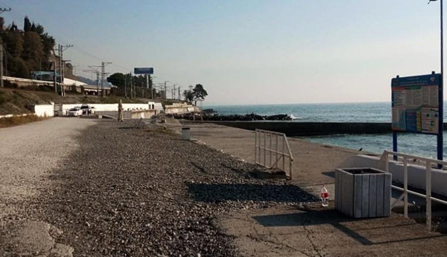 В Сочи опечатан пляж «Красный штурм»