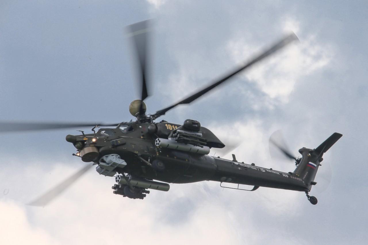 Найдены бортовые самописцы в разбившемся на Кубани вертолете МИ-28