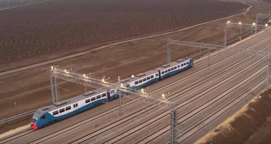 Владимир Путин открыл железнодорожное движение по Крымскому мосту