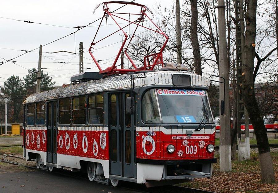 Стал известен график работы общественного транспорта на Новый год в Краснодаре