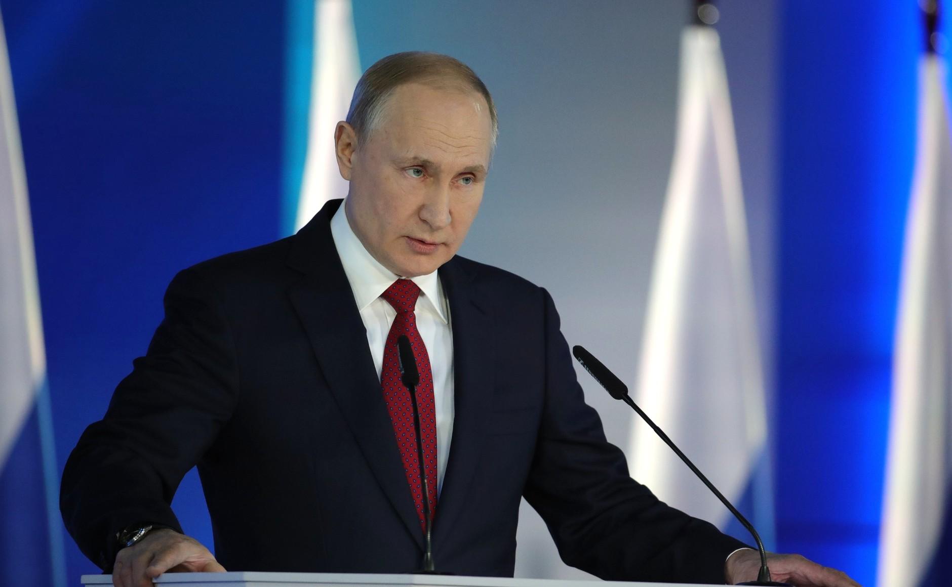 Путин предложил доверить Госдуме утверждать правительство
