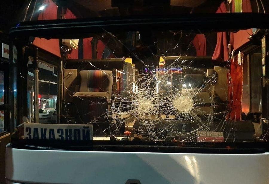 На Кубани неизвестные совершили восемь нападений на вахтовые автобусы