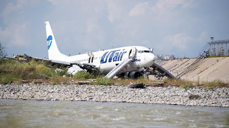МАК рассказал о причинах ЧП с самолетом в Сочи