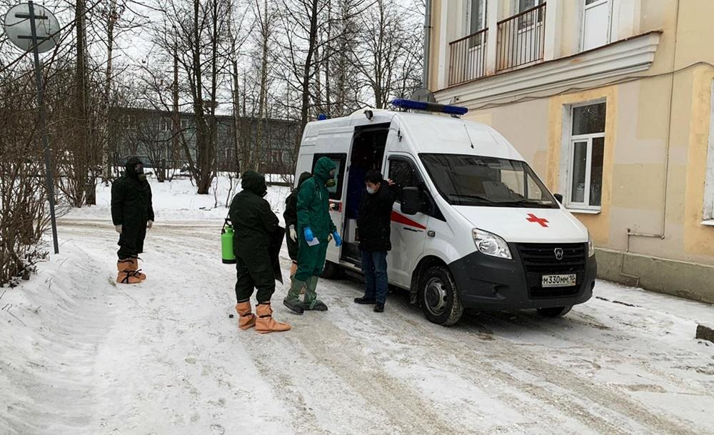 В России госпитализирован еще один человек с подозрением на коронавирус
