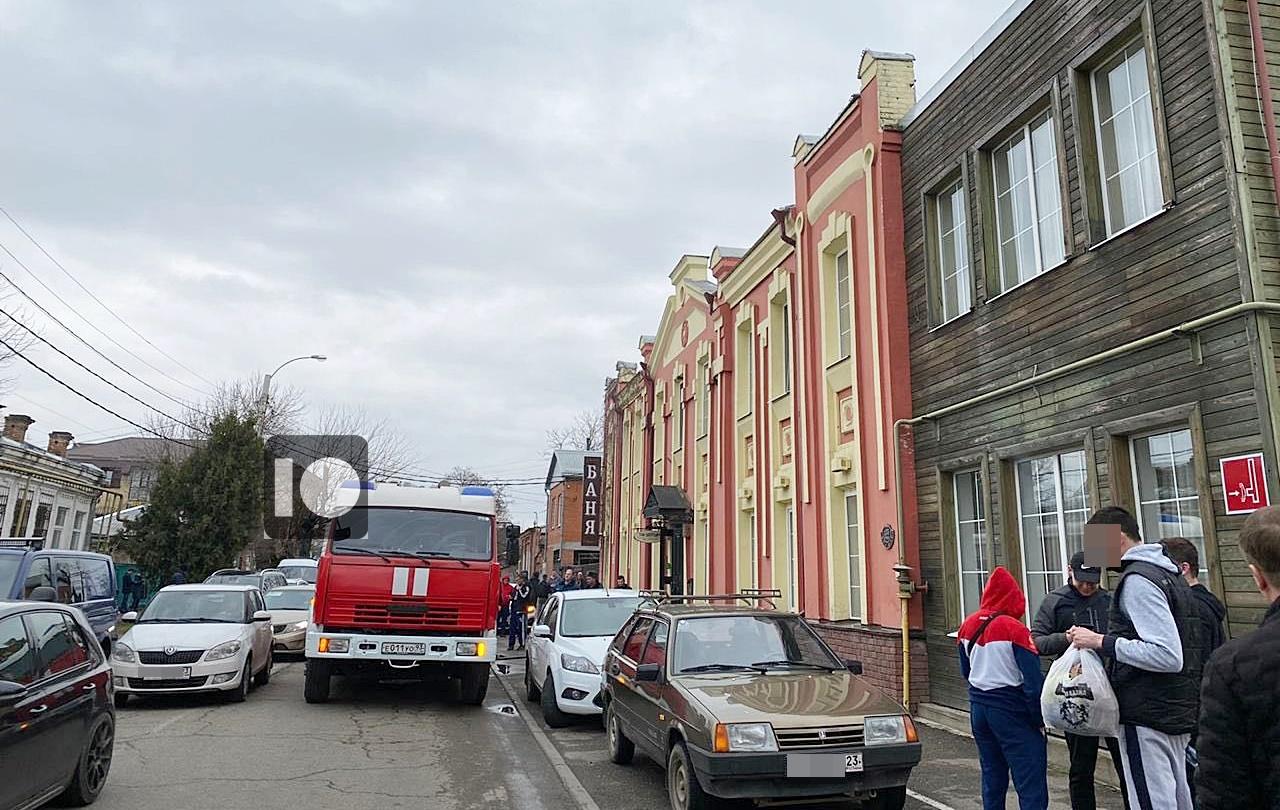 В центре Краснодара эвакуировали посетителей бани