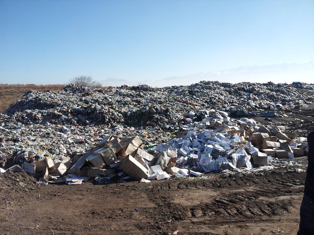 В Северском районе незаконная свалка нанесла ущерб экологии на 40 млн рублей