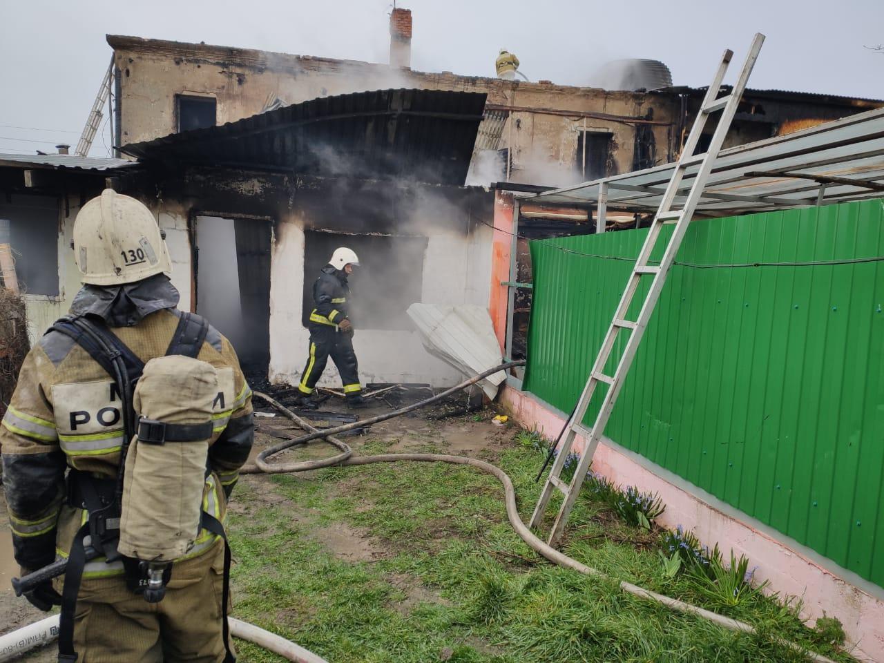 В Темрюкском районе сгорело три квартиры