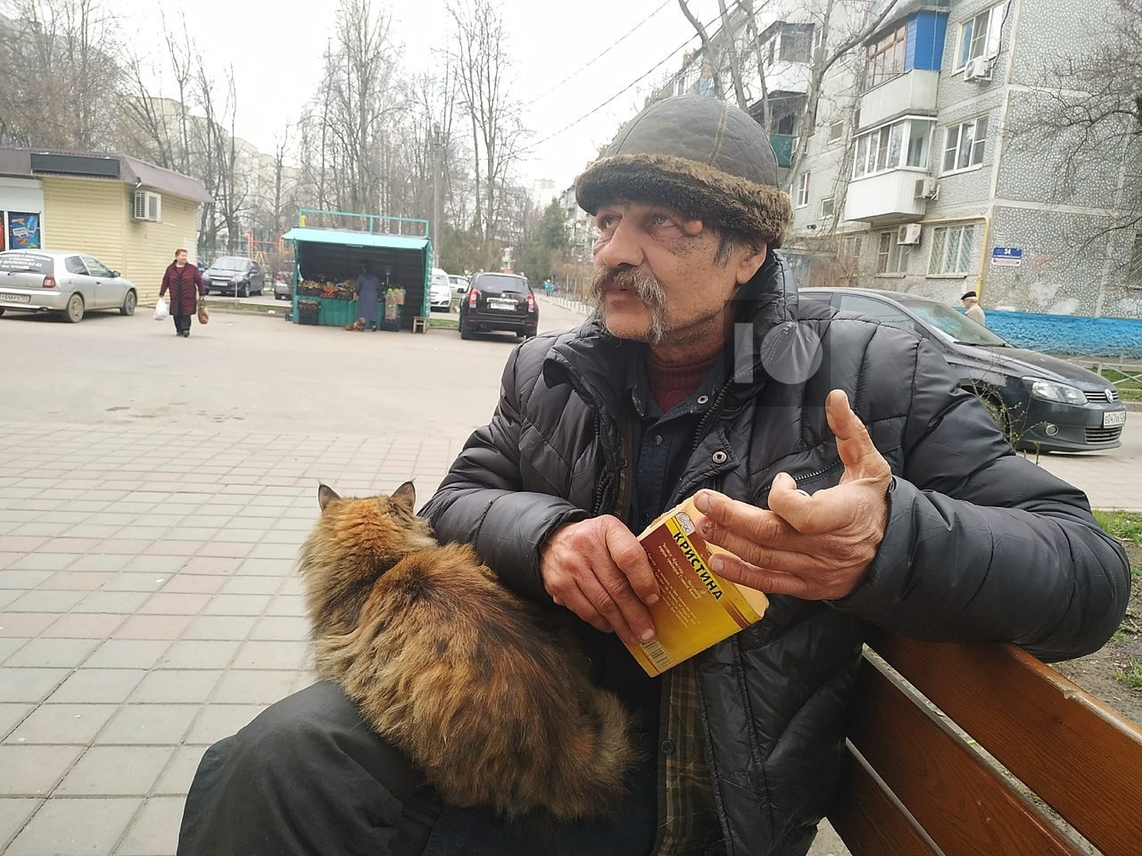 Бездомный Альберт: хочу вернуться к нормальной жизни