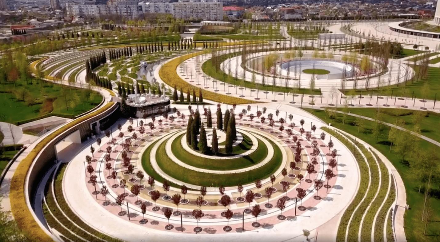 """В Краснодаре """"Парк Галицкого"""" можно посмотреть с высоты птичьего полета"""