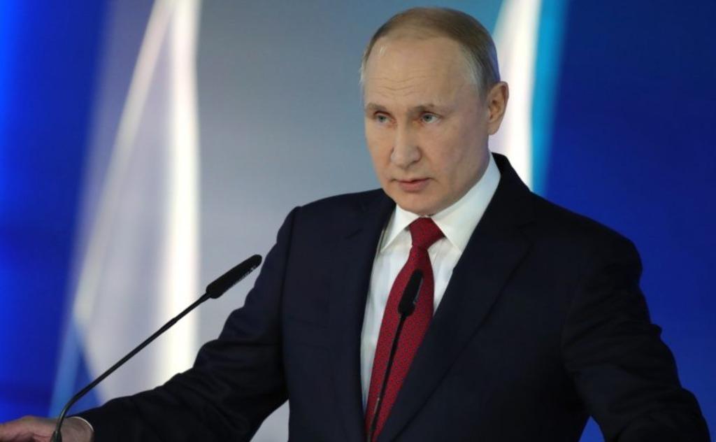 Сегодня Путин обратится к россиянам в прямом эфире