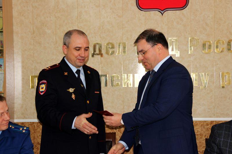 Назначен начальник ОМВД РФ по Туапсинскому району