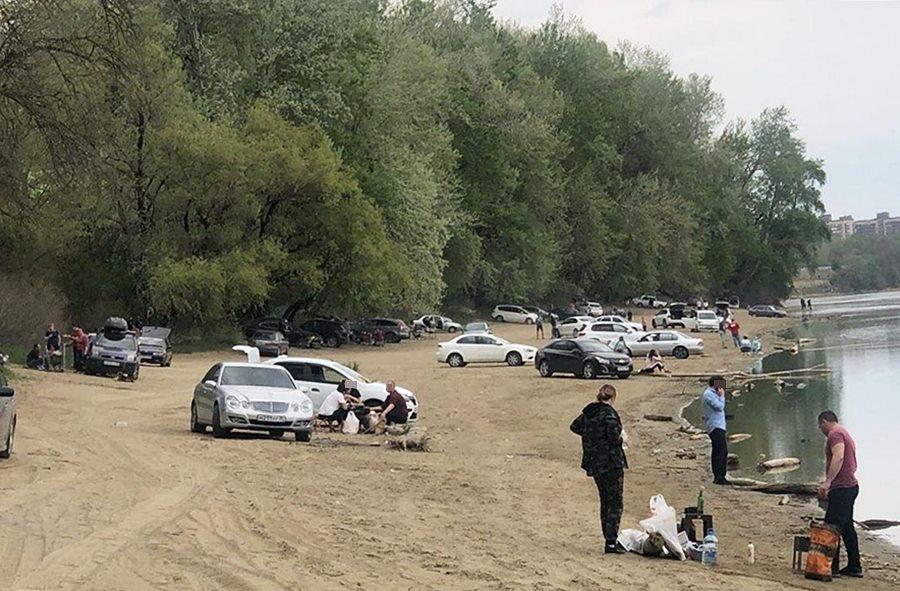В Краснодаре любителей шашлыков во время карантина начнут ловить на берегу реки Кубань