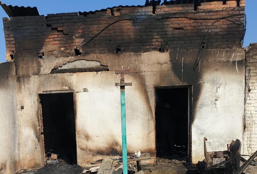 На Кубани охранник карьера погиб при пожаре