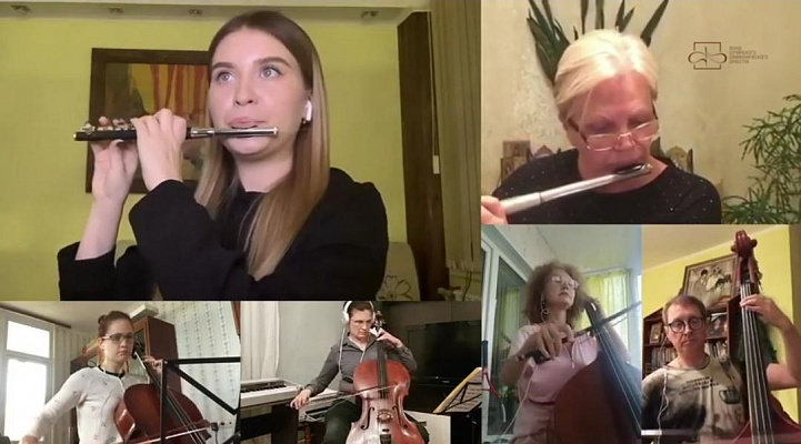Сочинский симфонический оркестр провел выступление из дома