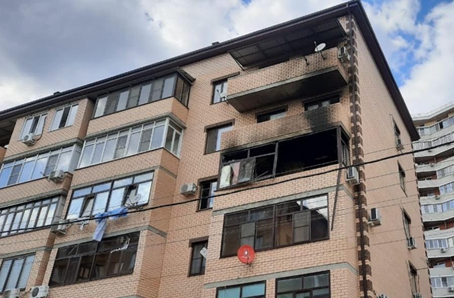 В Краснодаре произошел взрыв в многоэтажном доме