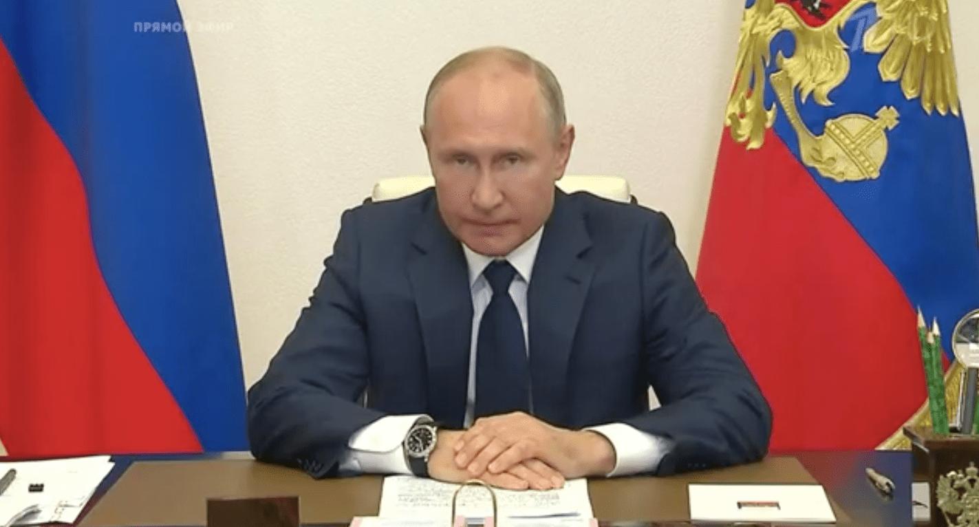 Путин объявил о завершении единого нерабочего периода