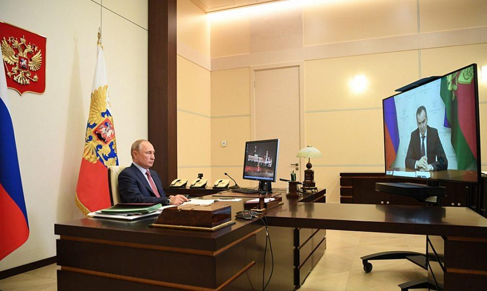 Кондратьев сообщил о своем решении идти на второй срок