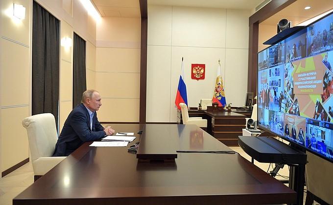 Сегодня Путин в прямом эфире обсудит сроки снятия ограничений по коронавирусу