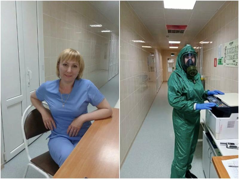 Медсестра краснодарской инфекционки рассказала о работе в реанимации с больными коронавирусом