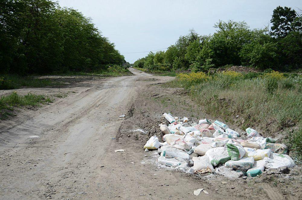 В Краснодаре закроют проезд по замусоренной дороге к хутору Копанскому