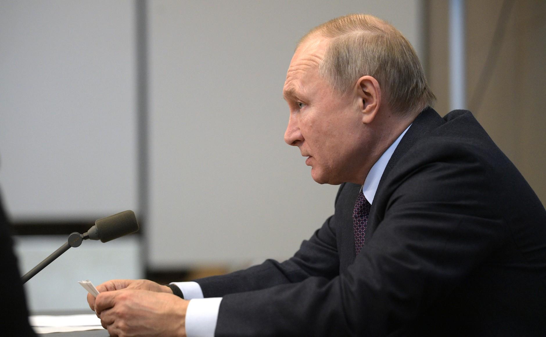 Путин предложил с 1 января изменить ставку налога на доходы физических лиц