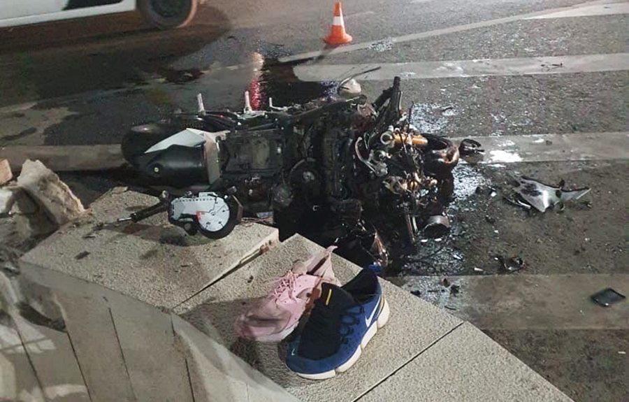 В Краснодаре разбился насмерть 36-летний мотоциклист