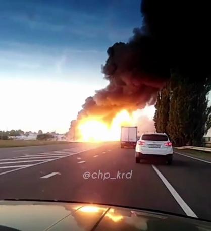 В Краснодарском крае взорвалась заправочная станция, есть пострадавшие