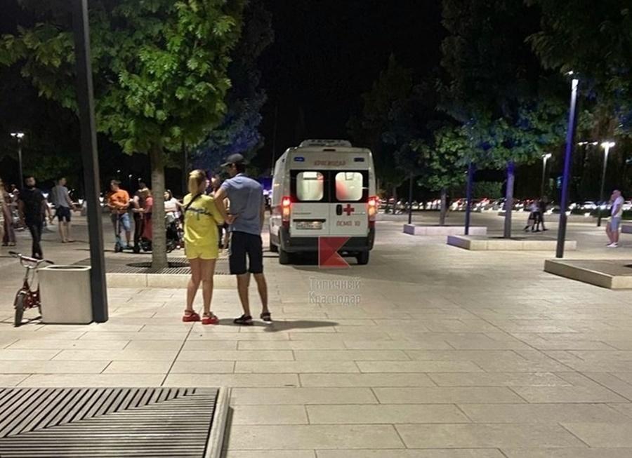 В парке Галицкого разбился 12-летний мальчик на самокате