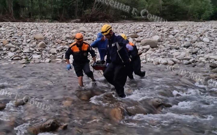 В горной реке обнаружен труп жителя Сочи