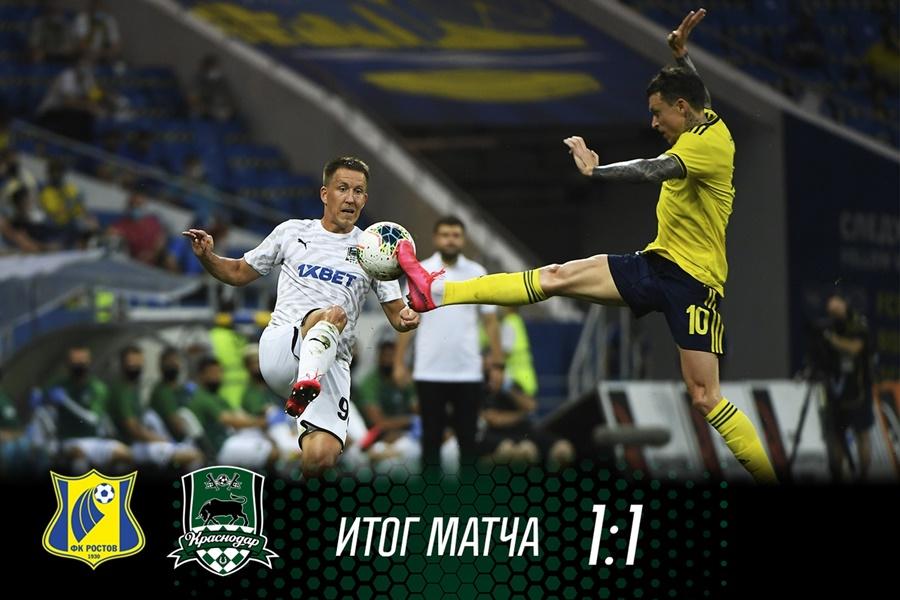 Матч между «Краснодаром» и «Ростовом» стал самым продолжительным в истории РПЛ