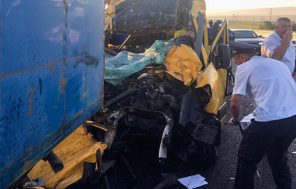 СК назвал возможные причины ДТП в Крыму с девятью погибшими