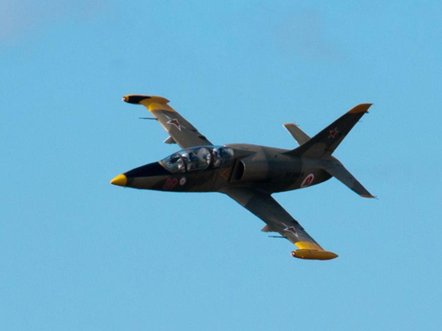 На Кубани разбился учебный самолет Л-39