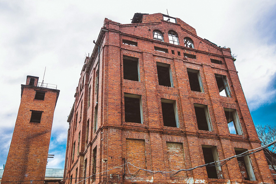 В Краснодаре отреставрируют заброшенную старинную мельницу