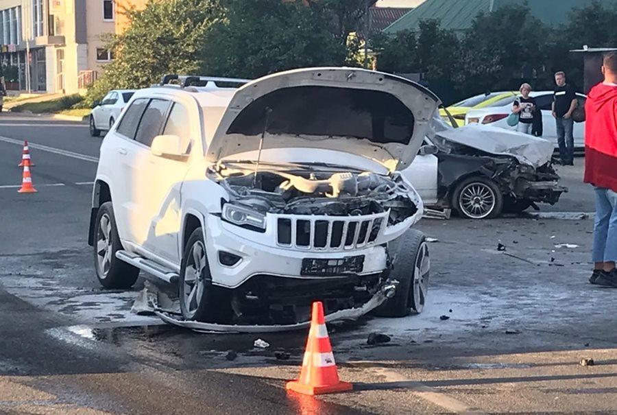 Три человека пострадали в ДТП у парка «Краснодар»