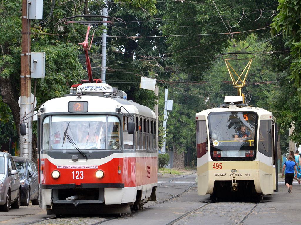 В Краснодаре изменится маршрут движения трамваев №2, 5, 8, 11